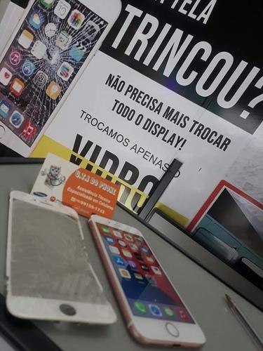 Imagem 1 de 1 de Toca De Vidro De Celular iPhone 6g/6s