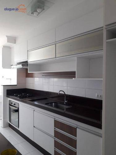 Apartamento Com 3 Dormitórios À Venda, 67 M² Por R$ 350.000,00 - Villa Branca - Jacareí/sp - Ap6799