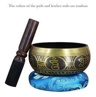 Cobre Buda Sonar Cuenco Yoga Tibetano Canto Cuenco Religión