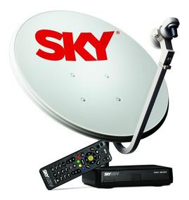 Kit Sky Pré-pago Flex Hd ( Completo ) Não Tem Frete Grátis!