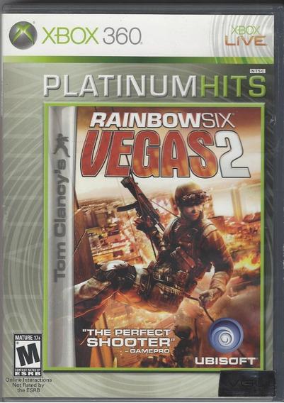 Rainbow Six Vegas 2 Xbox 360 Original Lacrado Mídia Física