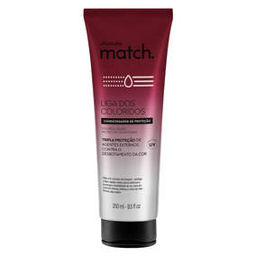 Match Condicionador Liga Dos Coloridos, 250ml