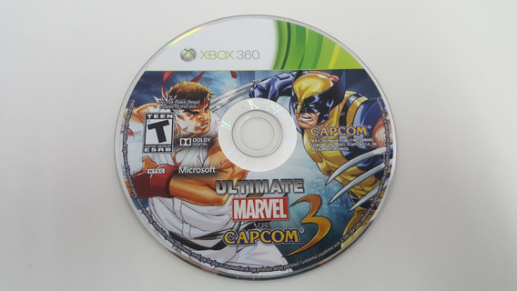 Ultimate Marvel Vs Capcom 3 - Xbox 360 - Sem Encarte
