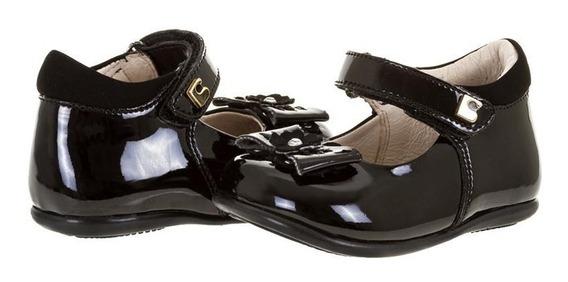 Zapatos Negros Marca Coqueta Para Bebé Niña Pr-8476272