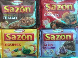 Condimento Sazon De Brasil Sabores A Eleccion Pack X144u