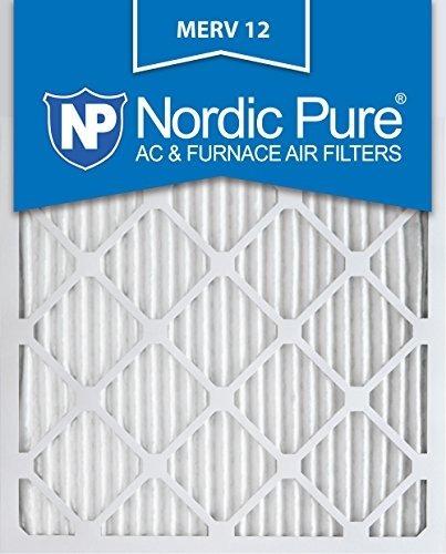 Nordic Pure 14x25x1m12-6 Merv 12 Filtro De Horno De Aire Pli