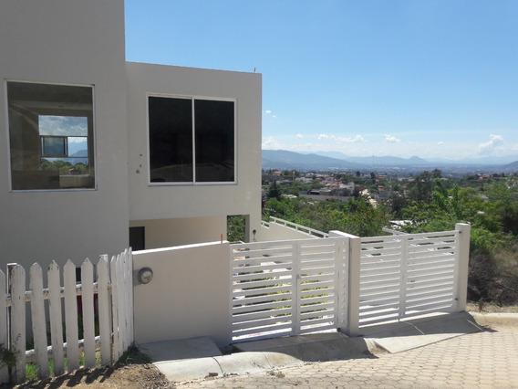 Hermosa Casa Nueva En San Felipe Del Agua.