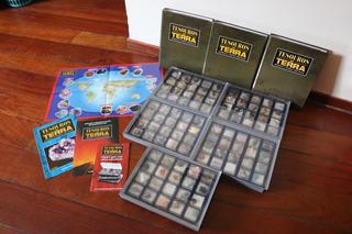 Coleção Tesouros Da Terra (minerais E Gemas) Deagostini 2012