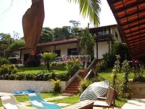 Chácara Com 5 Dormitórios À Venda, 5000 M² Por R$ 1.590.000,00 - Correas - Arujá/sp - Ch0082