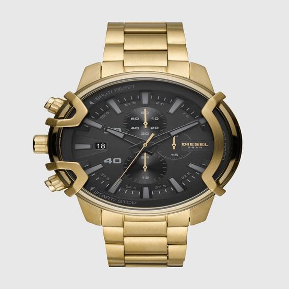 Relógio Diesel Masculino Cronógrafo Dourado Dz4522/1dn