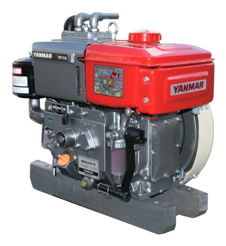 Motor Yanmar Diesel 7,0 Cv Modelo Tf70h Nova Série