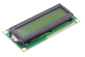 1 Display Tela Lcd 16x2 1602 Backlight Verde Arduino