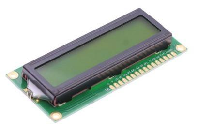 1 Display Tela Lcd 16x2 1602 Backlight Verde Arduino