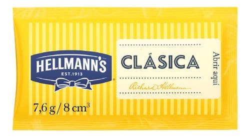 Mayonesa Hellmann's 7.6g X196 Para Viandas