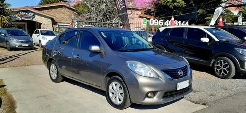 Nissan Versa Extra Full Año 2012 Con Ficha Servicio