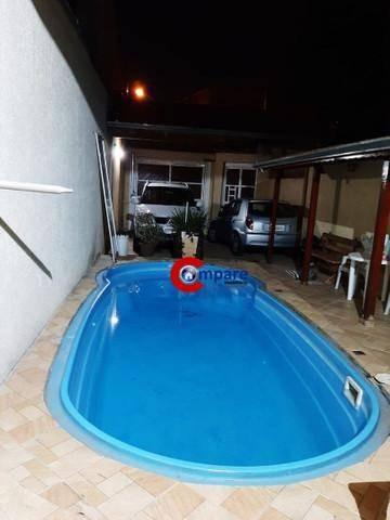 Sobrado Com Piscina,  2 Dormitórios (suítes) À Venda, 125 M² Por R$ 640.000 - Jardim Pinhal - Guarulhos/sp - So2210
