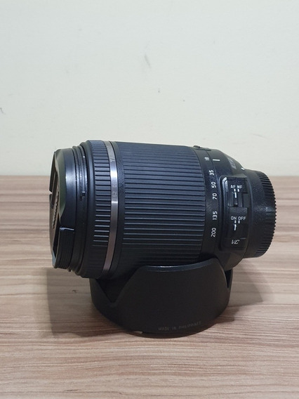 Lente Tamron 18-200 Para Nikon