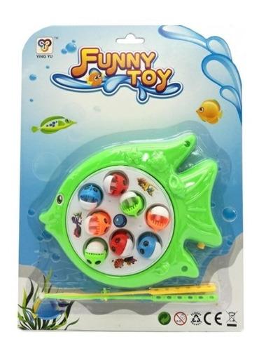 Juego De Pesca Magnético 2 Jugadores Juego Para Niños
