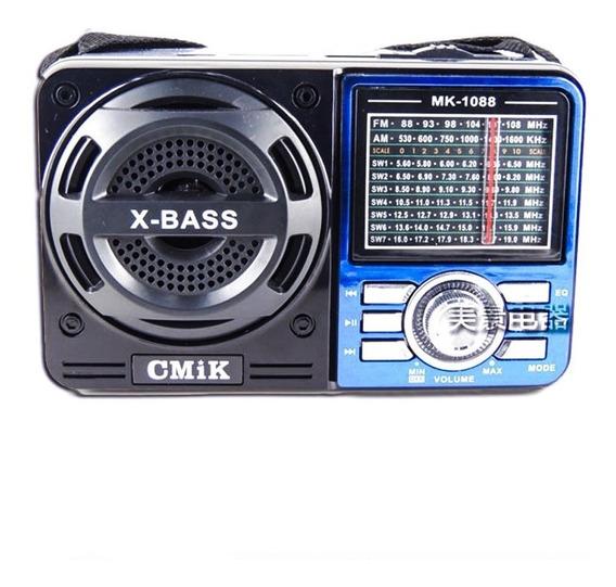 Radio Antigo Altomex A1088 Retro Vintage Fm Am Oc Usb Sd