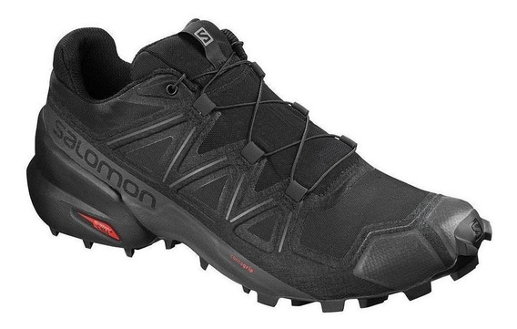 Tenis Salomon Speedcross 5 Negro Hombre Original - Run24.mx