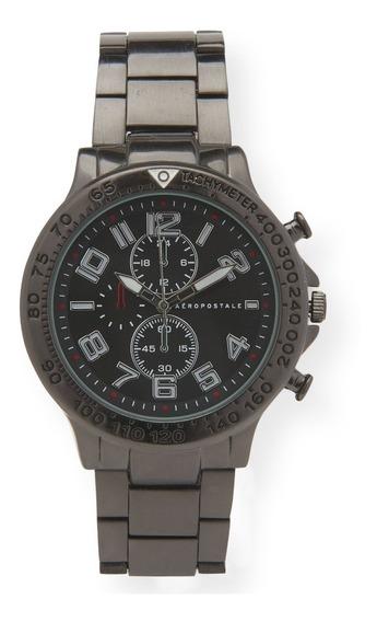 Relógio Masculino Aéropostale Preto