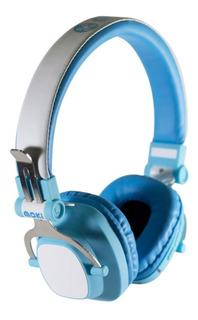 Audifonos Diadema Bluetooth Niño Y Niña Exo Azul Y Rosa Moki