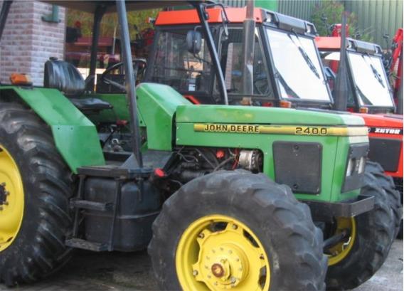 Calcomanías Tractor Agrícola John Deere 2400