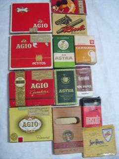 Antiguas Marquillas De Cigarrillos.