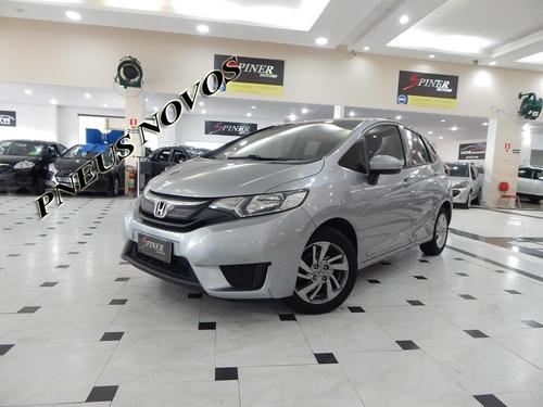 Honda Fit 1.5 Lx Flexone Automático Cvt Completo Pneus Novos