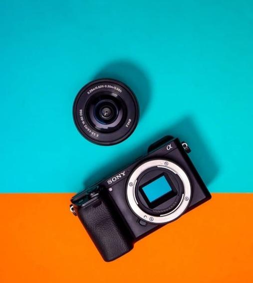 Camera Sony A6000 Lente Kit 16 50