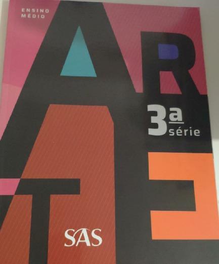 Arte 3ª Série - Coleção Pré-universitári Ângela Motta