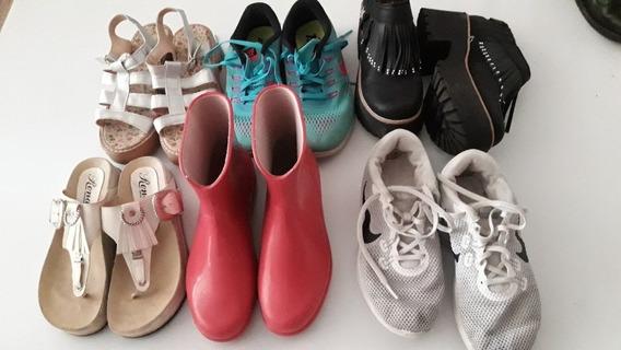 Lote De Zapatos Y Zapatillas Talle 36