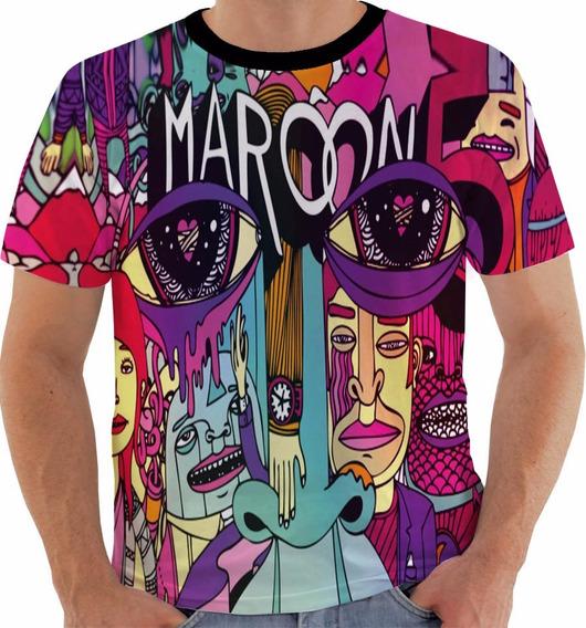 Camisa 1349 Maroon 5 Feat Wiz Khalifa Payphone 2017 Color