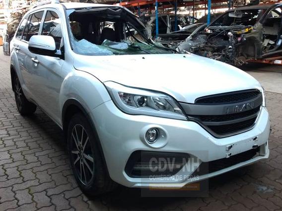 Sucata Lifan Xc60 2018/19 1.8 128cv Gasolina