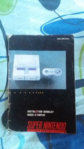 Manual E Postar Super Nintendo