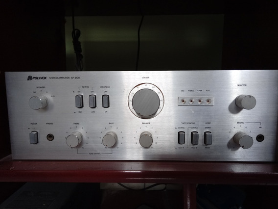 Amplificador Polivox Ap3100