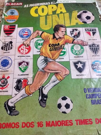 Lote Figurinhas Copa Uniao 1987 - 320 Diferentes