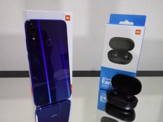 Xiaomi Redmi Note 7 64gb + Capa E Película +redmi Airdots