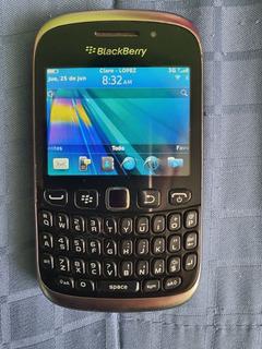 Blackberry 9320 Negra, Funcional, Bandas Abiertas