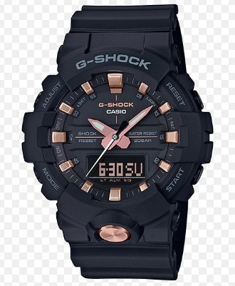 Relogio Casio G-shock Ga-810b-1a4 Rosê Caixa Menor Ga-800-1