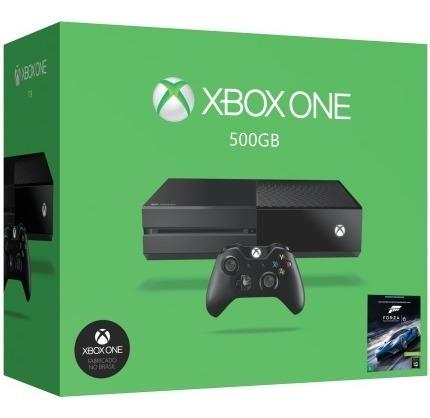 Xbox One 500gb + 2 Jogos + Bateria Recarregável