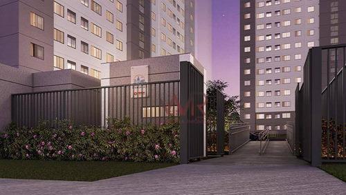 Apartamento À Venda, 40 M² Por R$ 170.000,00 - Aricanduva - São Paulo/sp - Ap0909