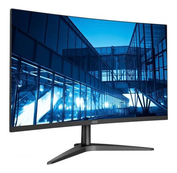 Monitor Led Aoc Tela 23.6 Widescreen Full Hd 1 Hdmi