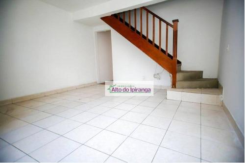 Sobrado Com 2 Dormitórios À Venda, 85 M² - Ipiranga - São Paulo/sp - So1173