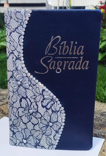 Bíblia Feminina Letra Gigante Com Harpa Promoçao