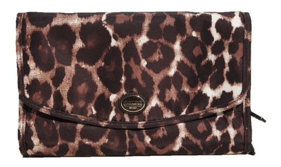 Cosmetiquera De Viaje Coach Animal Print