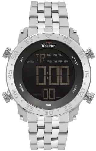 Relógio Technos Masculino Performance Digital Bjk006ab/1p