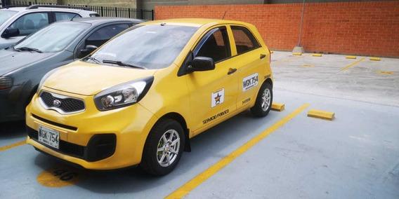 Taxi Kia Picanto Ion Modelo 2015, Enllantado, Unico Dueño