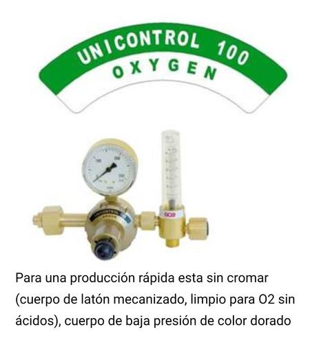 Imagen 1 de 4 de Regulador Oxigeno Lts/min Con Flujómetro, Primera Calidad.