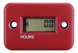 Cuenta Horas Universal Moto Atv Rojo 4 Tiempos Lancha Motor